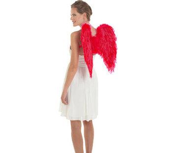 Vleugels Rood 50x50cm