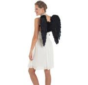 Vleugels Zwart 50x50cm