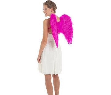 Vleugels Roze 50x50cm