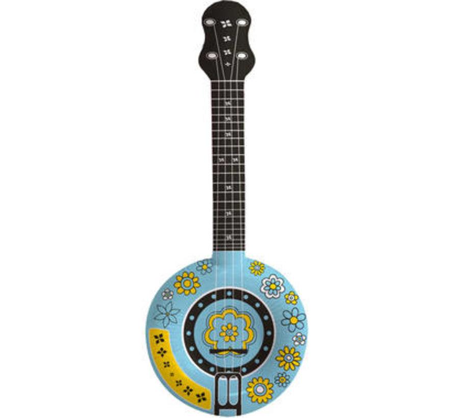 Opblaasbare Banjo - 88cm