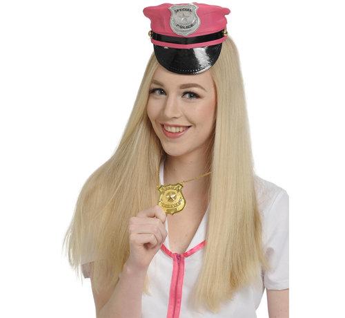 Politie Badge met Ketting