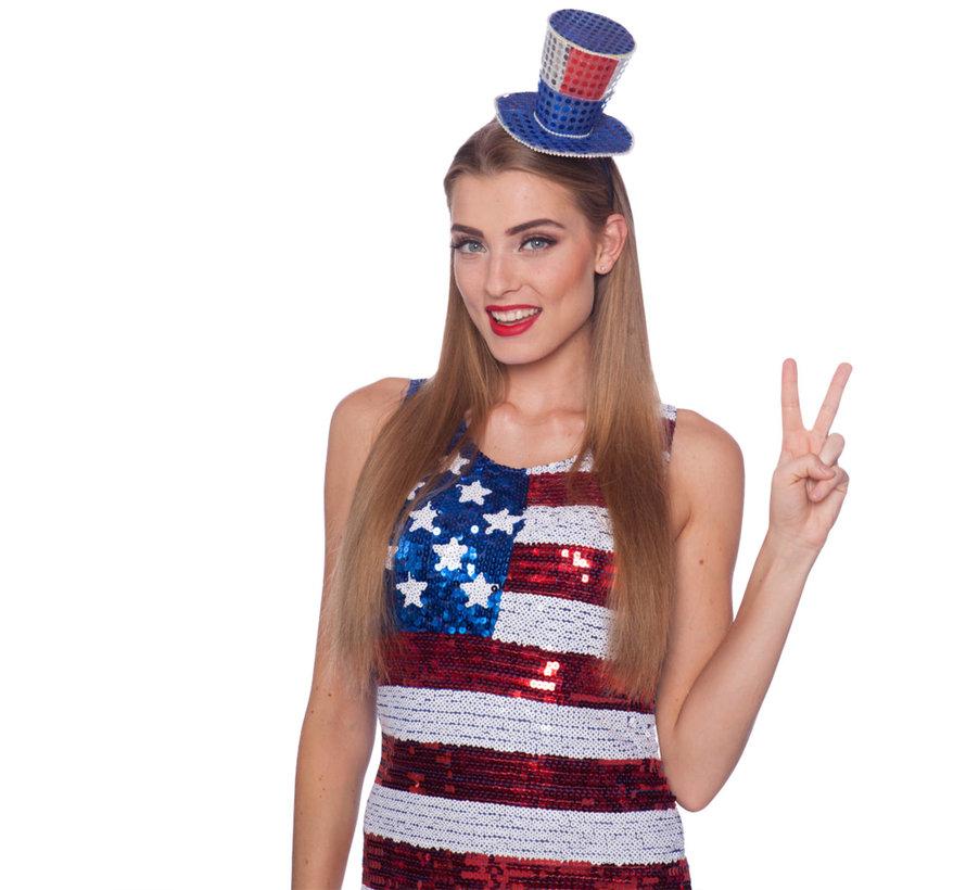 Tiara USA Hoedje - per stuk