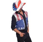 Cowboy USA Hoed Karton - 30cm