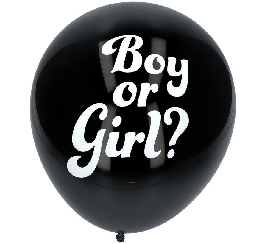 Gender Reveal Ballon Meisje 41cm - 3 stuks