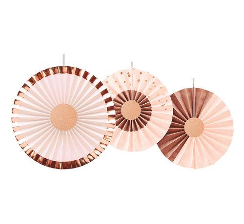 Honeycombs Luxe Roze - 3 stuks