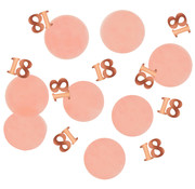 Confetti Elegant Roze 18 Jaar - 25 gram