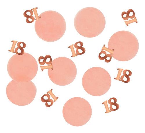 Confetti Luxe Roze 18 Jaar - 25 gram