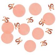 Confetti Elegant Roze 25 Jaar - 25 gram