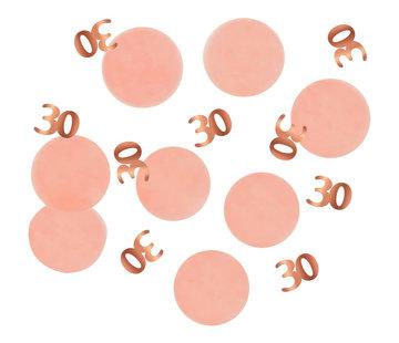 Confetti Luxe Roze 30 Jaar - 25 gram
