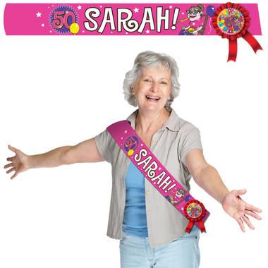 sarah verjaardag 50e verjaardag