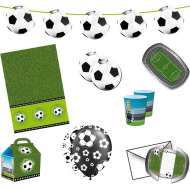 Voetbal kinderfeestje compleet feestpakket