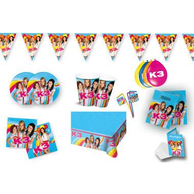 K3 feestpakket kinderverjaardag