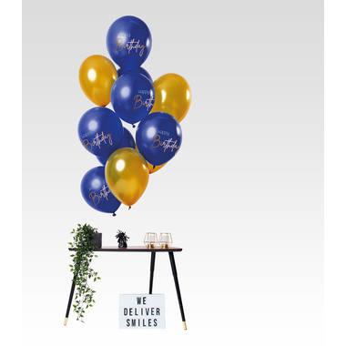 Mooie elegante verjaardag ballon