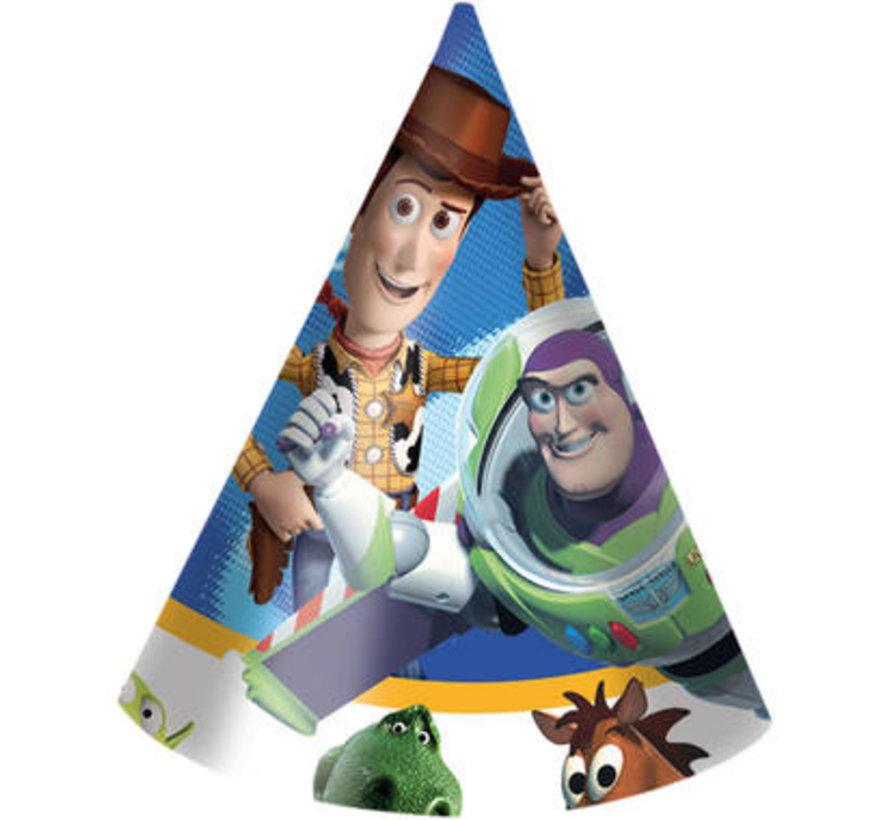 Toy story hoedjes - 6 stuks