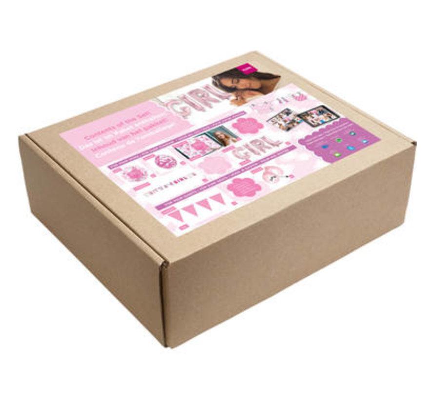 Feestpakket Online Kraamfeest Meisje
