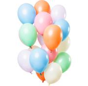 Ballonnen Pastel Party 30cm - 15 stuks