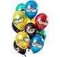 Ballonnen Superhelden Metallic 30cm - 12 stuks