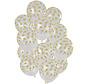 Ballonnen Stippen Goud 30cm - 15 stuks