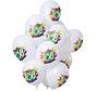 Ballonnen Color Splash 100 Jaar - 12 stuks