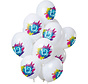 Ballonnen Color Splash 12 Jaar - 12 stuks
