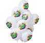 Ballonnen Color Splash 9 Jaar - 12 stuks