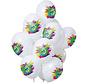 Ballonnen Color Splash 5 Jaar - 12 stuks