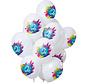 Ballonnen Color Splash 2 Jaar - 12 stuks