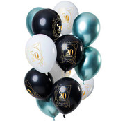 Ballonnen Jubileum 50 Jaar - 12 stuks