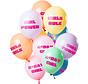 Ballonnen Verjaardag Meisje Pastel - 12 stuks