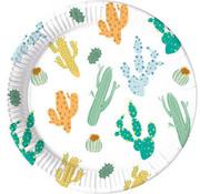 Borden Papier Composteerbaar Cactus - 8 stuks