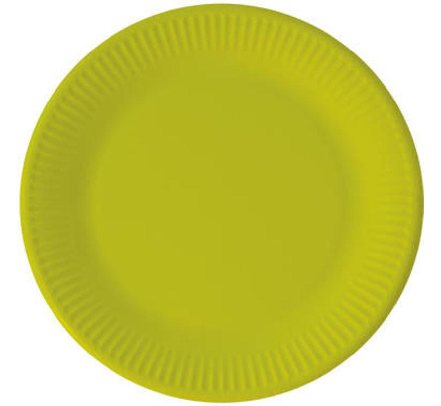 Borden Papier Composteerbaar Groen - 8 stuks
