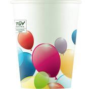 Bekers Composteerbaar Ballonnen - 8 stuks