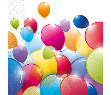 Servetten Papier Composteerbaar Ballonnen - 20 stuks