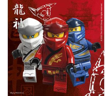 Servetten Papier Composteerbaar Lego Ninjago - 20 stuks