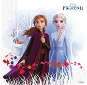 Servetten Papier Composteerbaar Frozen 2 - 20 stuks