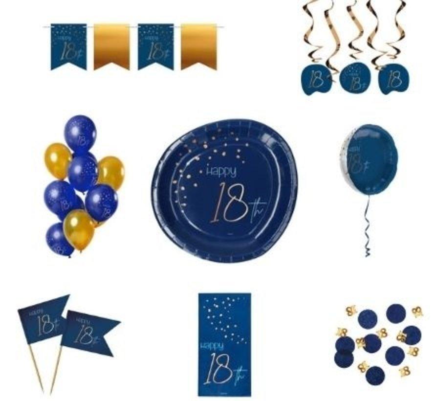 Luxe Feestpakket 18 jaar voor hem