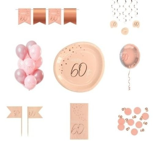 Luxe Feestpakket 60 jaar voor haar