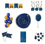 Luxe Feestpakket 80 jaar voor hem