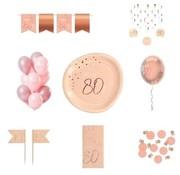 Luxe Feestpakket 80 jaar voor haar