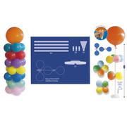 Ballonpilaar met Standaard - 120cm