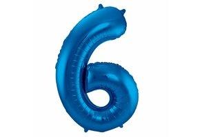 Cijferballonnen blauw