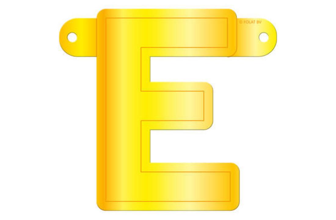 Letterslingers geel