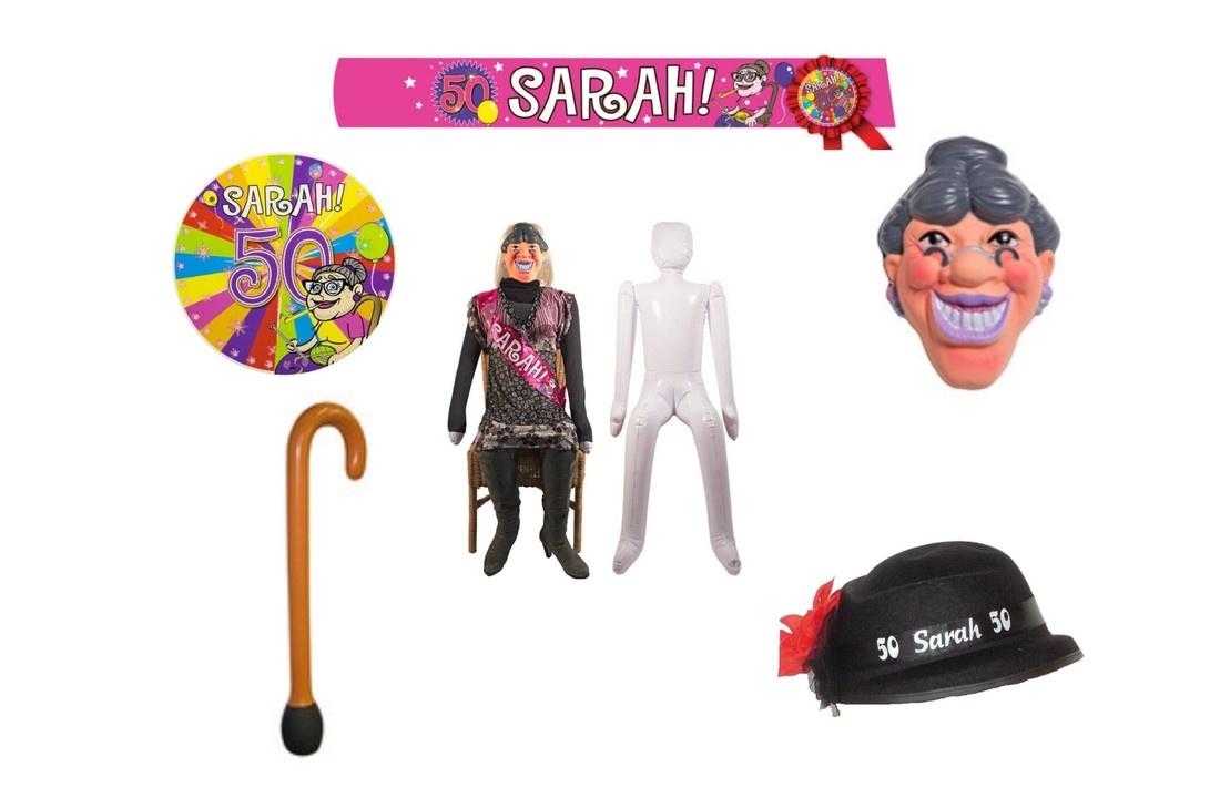 Sarah pakketten