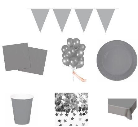Zilveren feestpakketten