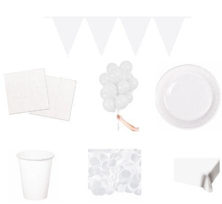 Witte feestpakketten