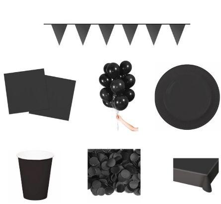 Zwarte feestpakketten