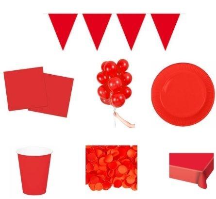 Rode feestpakketten