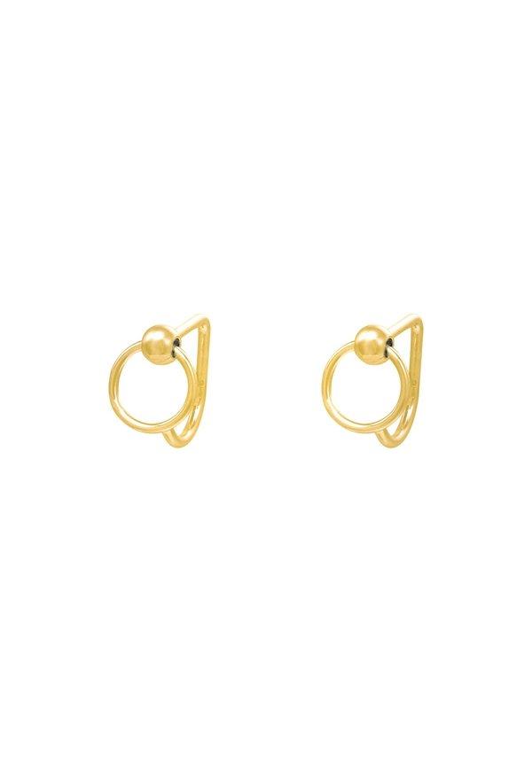 Earrings Huggies Circle