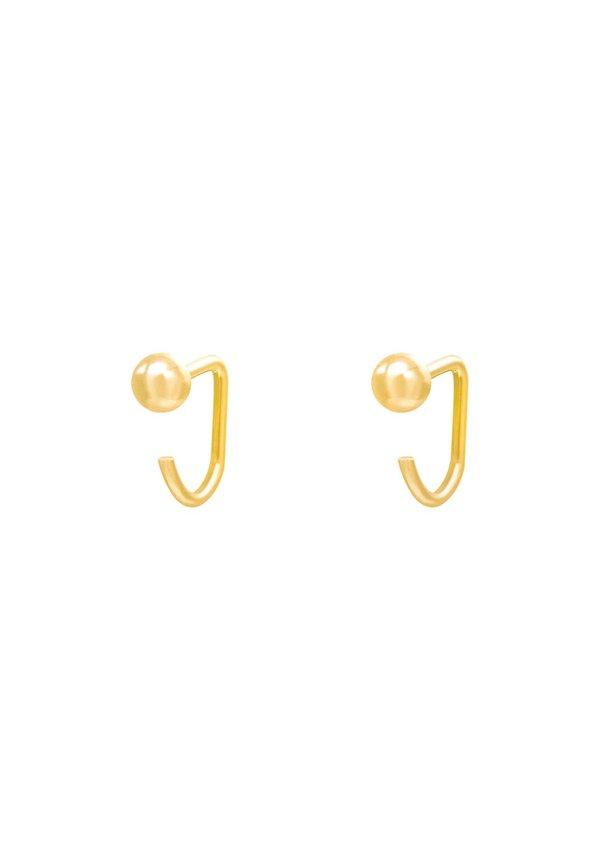 Earrings Huggies Tiny Ball