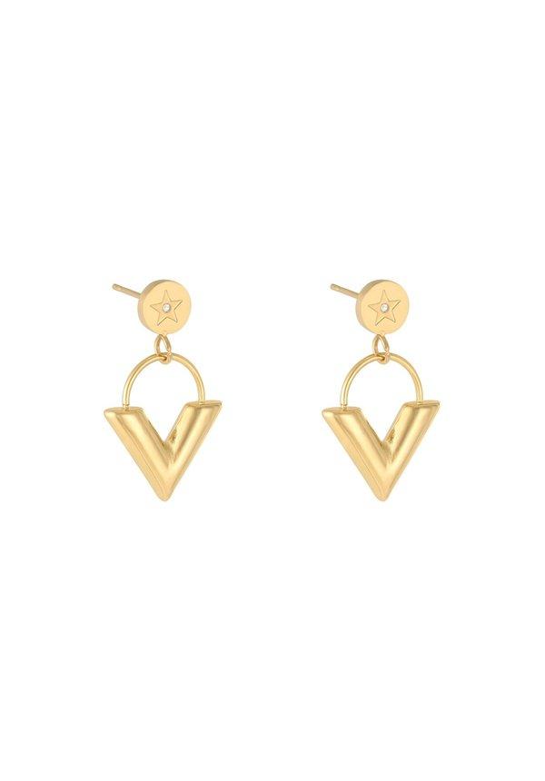 Earrings Majestic Gold